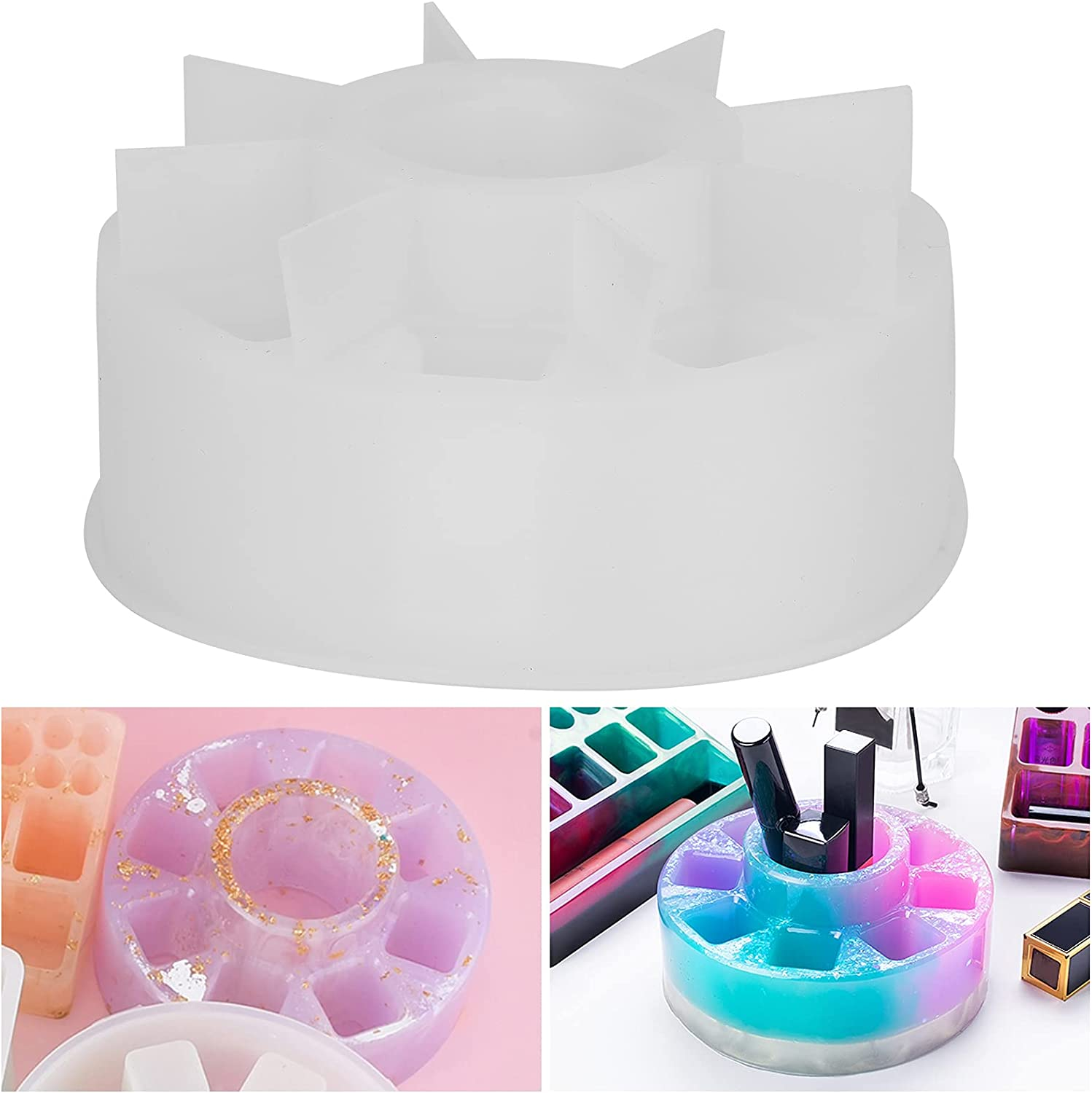 Safety and trust 01 Lipstick Box Holder Same day shipping Smooth Reusable Home for P