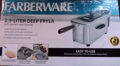 Best farberware 3.0 l deep fryer with oil filtration Reviews