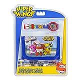 Super Wings Juego de Reloj Digital y Cartera para niños, 25 cm, Multicolor