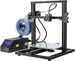 Creality 3D Printer CR-10 Mini 3D Aluminum DIY Printer with Resume Print Open Source Large Print Size 300x220x300mm 60% Pre-Assembled