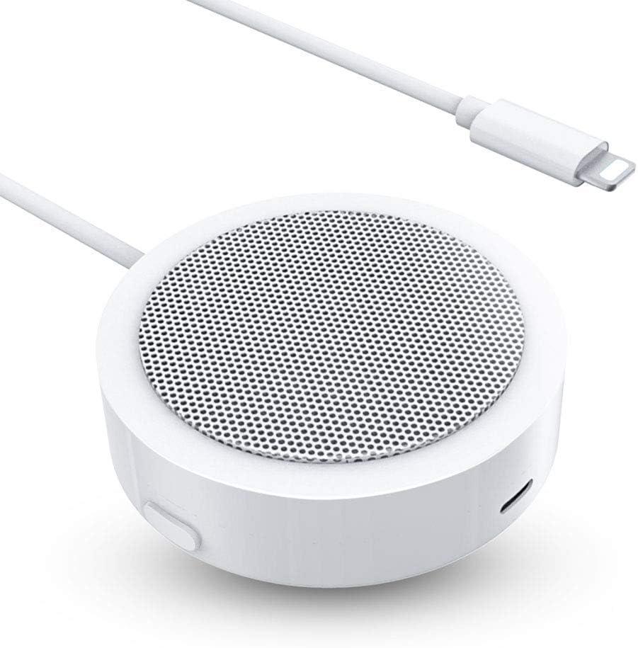 Altavoz de Conferencia,Altavoz Portátil Línea,Incorporada Micrófono con Claro Como el Cristal Sonido Estéreo Compatible con Phone/Pad/Pod,no Necesita Pilas o Carga