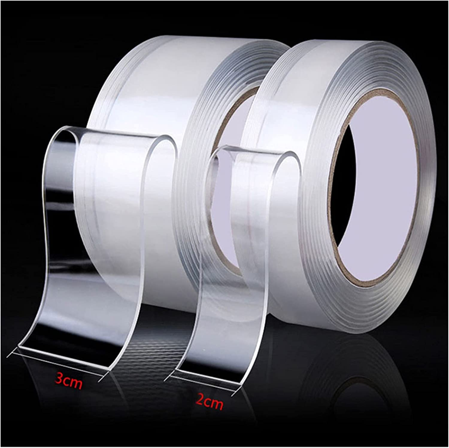ZEMIN We OFFer All items free shipping at cheap prices 1 2 3 5M Nano Transparent Sided Reusable Tape Double