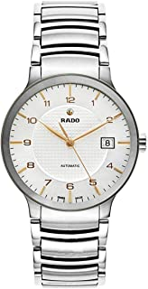 ساعة رادو سينتريكس للرجال - فضي - انالوج R30939143
