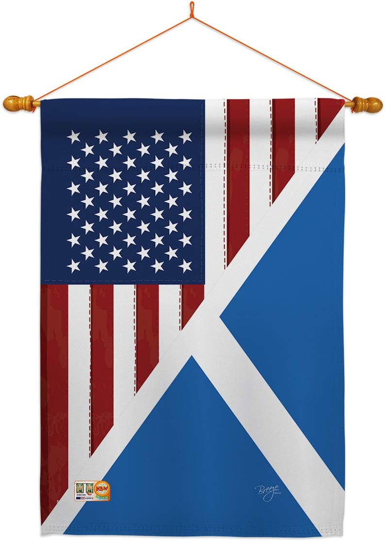 US Friendship Scotland House 最新アイテム いよいよ人気ブランド Flag Regional USA Dowel Set America