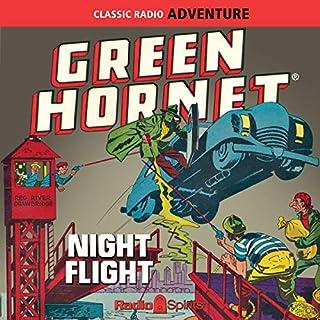 Green Hornet: Night Flight audiobook cover art