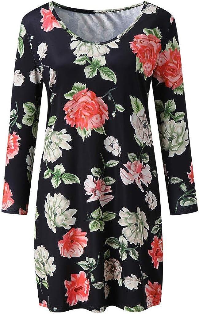 Allence Umstandskleid Sommer Damen Schwangerschafts Kleid Freizeit Umstandskleid Shirtkleid Mini Sommerkleid Mutterschafts Kleider Umstandsmode