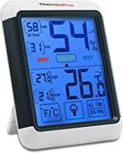 ThermoPro TP55 digitales Thermo-Hygrometer Innen Thermometer Hygrometer Temperatur und Luftfeuchtigkeitmessgerät mit Raumklima-Indikator für Raumklimakontrolle Raumluftüerwachtung