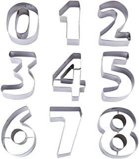 Best extra large number cookie cutters Reviews