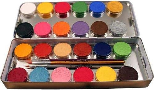 la calidad primero los consumidores primero Conjunto De De De 24 de Pintura de Colors En Una Paleta de Metal, Eulenspiegel, UE 224007  nueva gama alta exclusiva