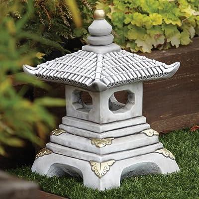 Chinese Garden Ornaments - One Tier Japanese Pagoda Lantern