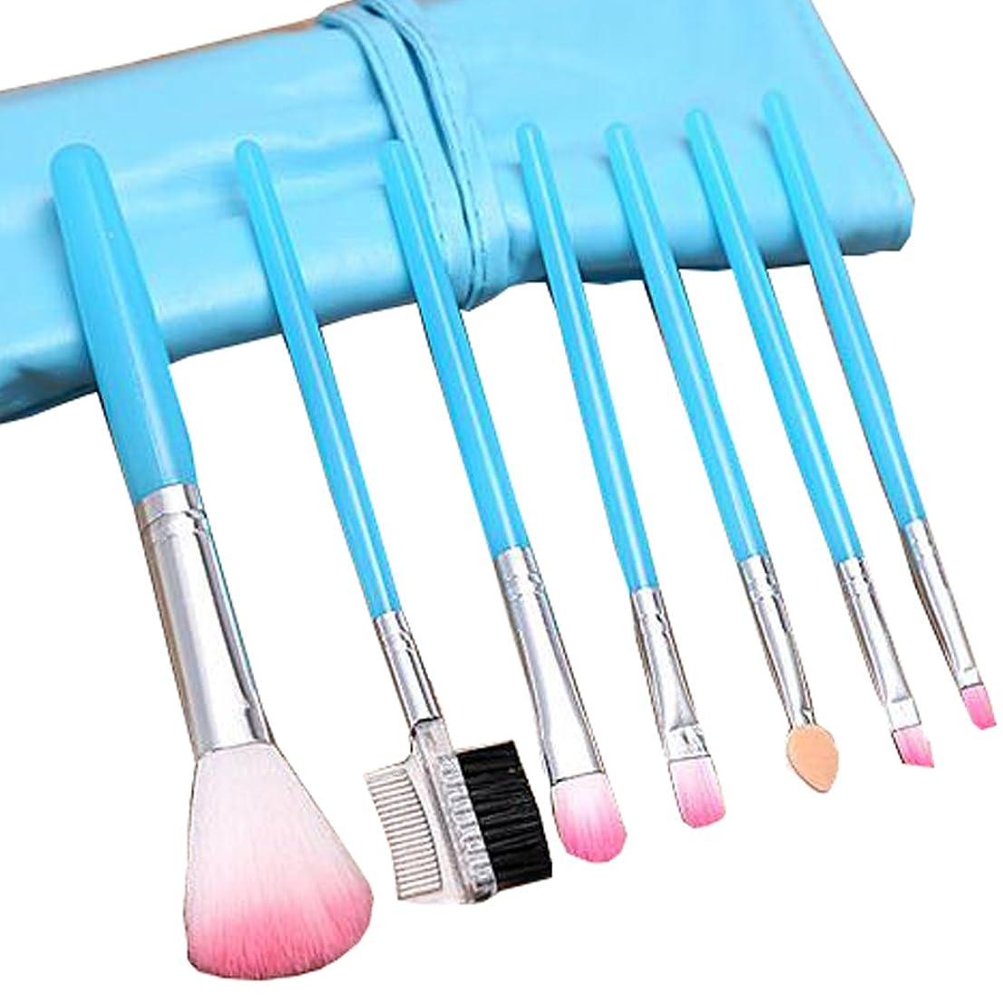 ポケット伸ばす対立ポータブルメイクブラシツール化粧品基礎メイクブラシセット