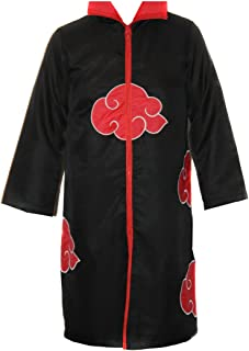 NARUTO COSPLAY Akatsuki MANTEL in Gr. XXL Umhang ITACHI Deidara für Cosplay Karneval oder Kostüm Parties