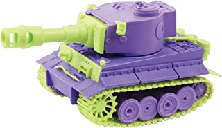 Doyusha Colorful Cute Tank Series No.4 Tiger 1 (Germany) Color-Coded Plastic Model