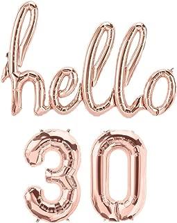 hello 30 balloons