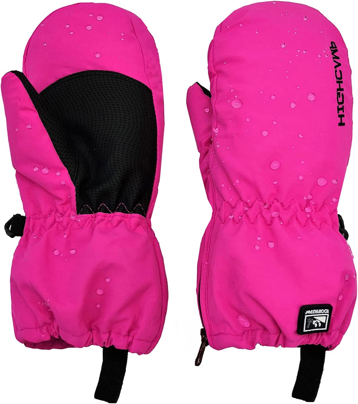 HIGHCAMP Kids Special sale item Winter Waterproof Ski Direct store with Warm Mittens Snow Zippe