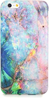 iPhone 6 / 6s Plus case Marble, Sankton Slim-Fit Anti-Scratch Shock Proof Anti-Fingerprint IMD Soft TPU Cover with Matte Pattern for iPhone 6 Plus & iPhone 6s Plus 5.5-inch (Color Line Marble)