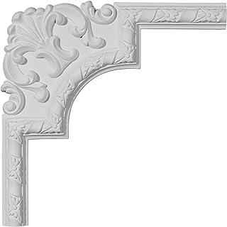 Ekena Millwork PML09X09KD-CASE-4 9 inch W x 9 inch H Kendall Panel Moulding Corner , 4-Pack