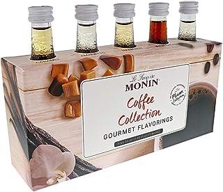 Monin - 5 Flavor Gourmet Coffee Collection