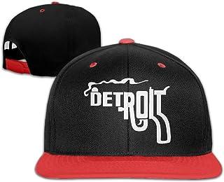 ca354fc1c73 Bonvzu-9 Funny Detroit Smoking Gun Comfortable Adjustable Baseball Cap  Snapback Plain Cap For Men