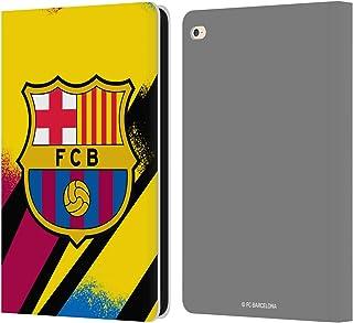 Head Case Designs Oficial FC Barcelona Portero Tercera equipación 2019/20 Crest Kit Carcasa de Cuero Tipo Libro Compatible con iPad Air 2 (2014)