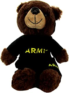 army stuffed bear