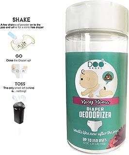 Eliminador de olores desechable para pañales y aplicar sobre el cacao antes de tirar para mantener el olor a la bahía por Doo Drops – hasta 150 usos