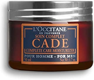 L'Occitane Moisturizing Cade Face Cream Enriched with Essential Oils for Men, 1.7 oz
