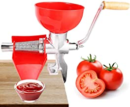 عصارة يدوية ومصفاة الطماطم، صانع الكاتشب الثقيلة صلصة صانع الفواكه عصارة الخضروات عصارة سهلة الاستخدام آلة كاتشب هوميد