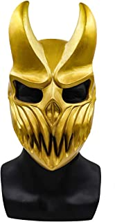 LIUQI Máscara de demonio banda Deathcore máscara de cara completa Slaughter para prevalecer máscara de Festival de música ...