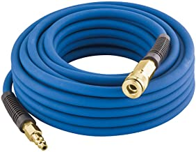 """Estwing E1450PVCR 1/4"""" x 50' PVC / Rubber Hybrid Air Hose with Fittings.."""