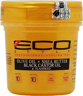 Eco Style Gold - روغن زیتون ، کره شی و کرچک سیاه