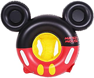 MC TTL Swimming Float Mickey Mouse Cartoon Kids Baby Swimming Ring Inflatable Pool Floating Round Pool Children Toy Float Thick