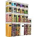 22-Pieces Wildone BPA Free Airtight Food Storage Containers (Khaki)