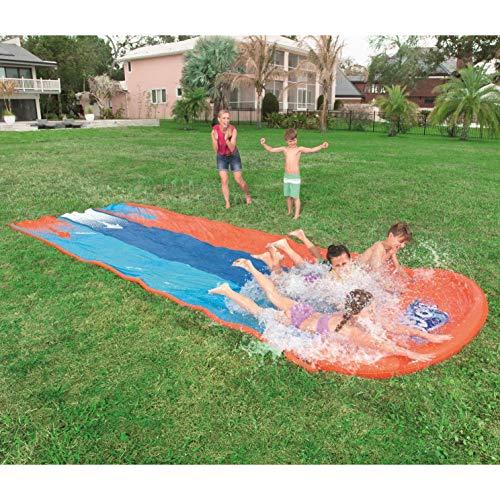 Slip N Slide?Oversized 550x210cm Summer Water Slides For Garden Large Slide For Kids Outdoor Outdoor Slip And Slide Water Slide