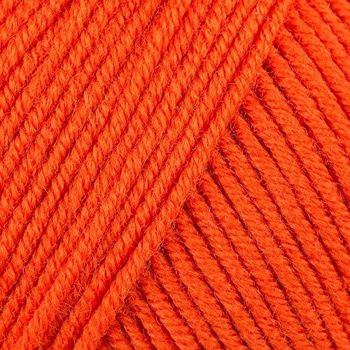 DMC Pelote de Laine Couleur 103, Orange