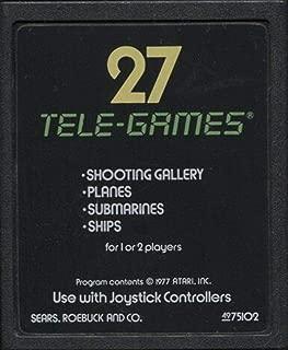 Tele-Games Target Fun Vintage Atari 2600 Video Game Cartridge