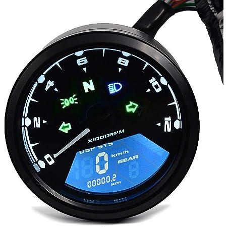 Motorrad Tachometer Für Yamaha Xv 1100 750 535 Virago Vtv Chrom Auto