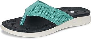 Pro by Khadim's Women Turquoise Flat Slip-On