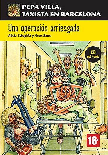 Serie Pepa Villa. Una operación arriesgada + CD: Una operación arriesgada, Pepa Villa + CD (Pepa Villa, taxista en Barcelona)