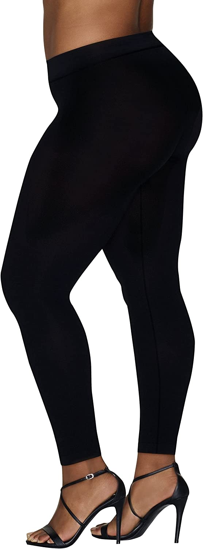 Hanes Women's Curves Comfort Leggings