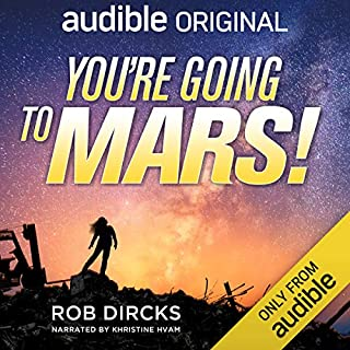 You're Going to Mars! audiobook cover art