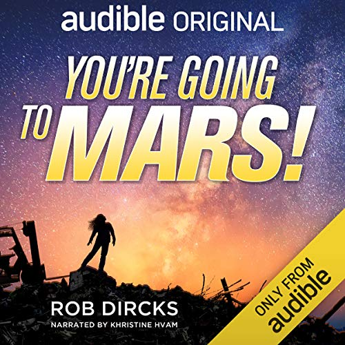 You're Going to Mars!  By  cover art