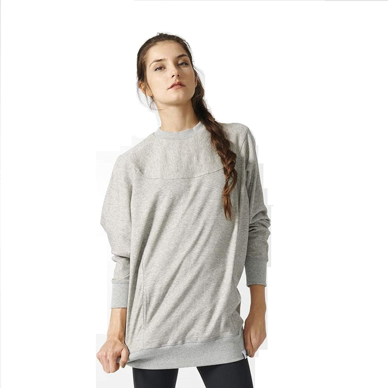Adidas Originals Women's XbyO Sweatshirt (Medium Grey Heather, Medium)
