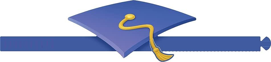 Eureka Classroom Supplies Adjustable Paper Graduation Hats for Kids, 32 pcs