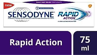 Sensodyne Rapid Action Toothpaste, 75ml