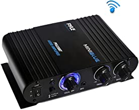 Wireless Bluetooth Home Audio Amplifier – 90W Dual Channel Mini Portable Power..