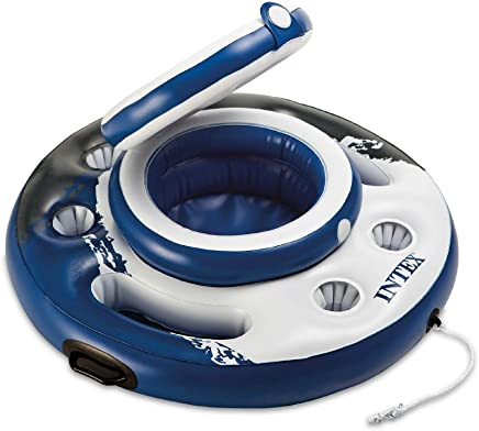 "Intex Mega Chill, Inflatable Floating Cooler, 35"" Diameter"