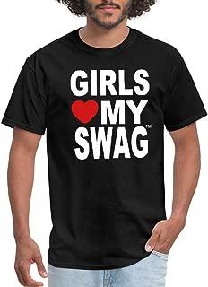 Girls Love My Swag T-Shirts Men's T-Shirt