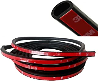 "E Support 157"" Small D 4Meter 3M Door Rubber Seal Weather Strip Hollow Car Auto"