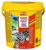 sera raffy P, Das Hauptfutter für Wasserschildkröten, 1er Pack (1 x 10 l) -